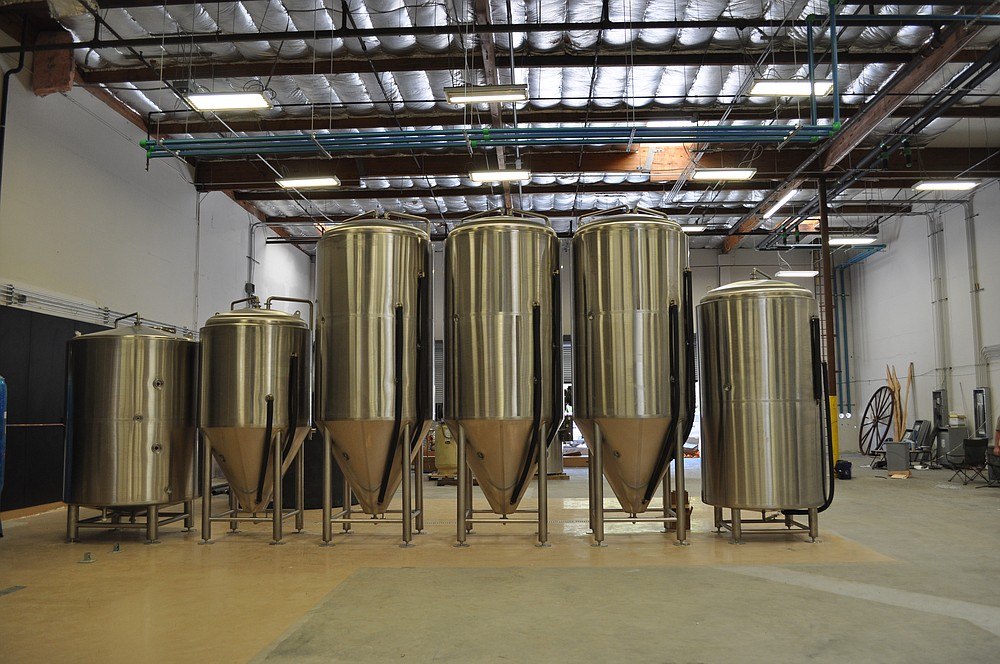 Burgeon Beer located its brewhouse in inland Carlsbad to give itself plenty of room to grow.