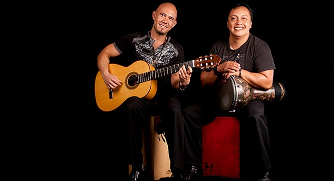 """Jimmy and Enrique rock Latin style — """"Stones and Floyd with a flamenco twist."""""""