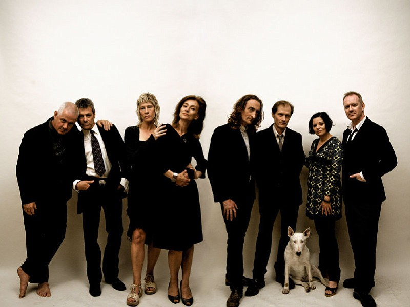 British cow-punk big band the Mekons play A Ship in the Woods Sunday night!
