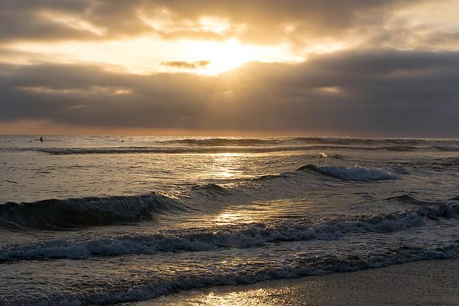 Swami's Beach , Encinitas CA Photo By : Christyl O'Flaherty