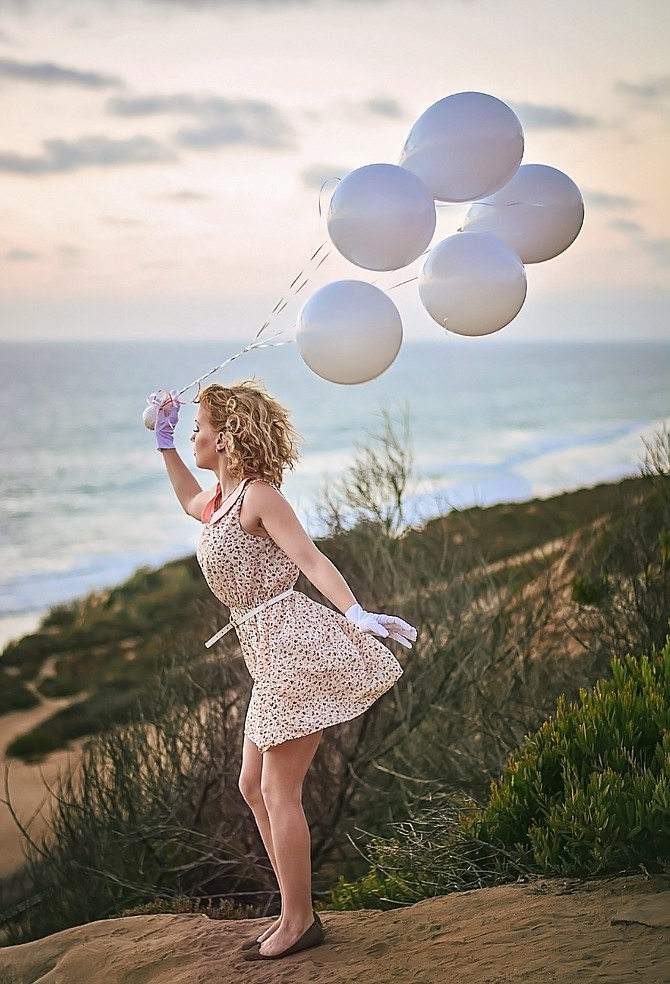 Del Mar Bluffs Ca  Model : Sara Sionne Photo By : Christyl O'Flaherty  Model Release by request :)