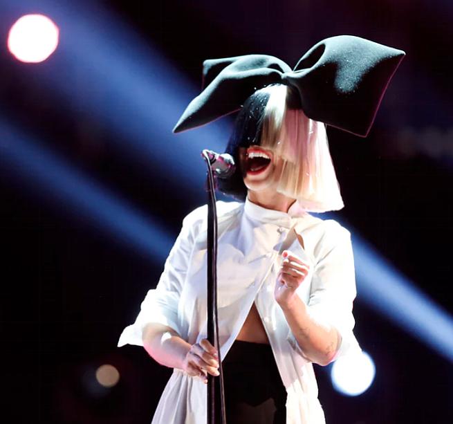 Aussie artist Sia graces the stage at Viejas Arena at SDSU Wednesday night!