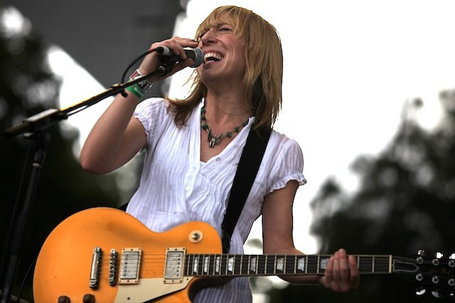 Blues-rocker Erika Wennerstrom of the Heartless Bastards hits the Casbah stage on Thursday.