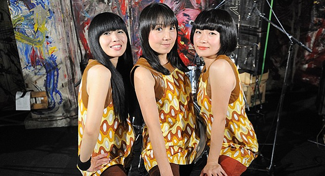 From Osaka, Japan, pop-punk trio Shonen Knife plays the Casbah on Tuesday night!