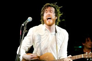 Will Sheff and this year's Okkervil River will take Belly Up Away on Saturday.