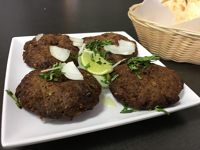 Pakistan s answer to the burger patty san diego reader for Afghan kebob cuisine menu