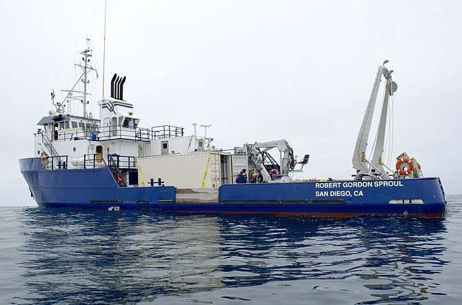 Scripps Canyon research vessel accomplishes mission.
