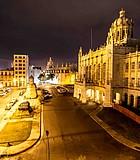 The Museo de la Revolución by night. Havana, 2016.