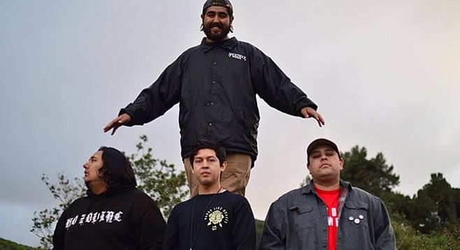 Escondido punk band Refuse will make their Ché Café debut on Friday night.