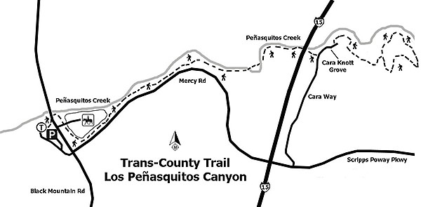 Trans-County Trail, Los Peñasquitos Canyon