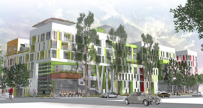 Rendering of BLVD project