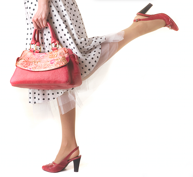 """My purse is so much part of me I'm surprised I  don't yell """"Ouch""""  when someone bumps it. I'm surprised it doesn't bleed."""