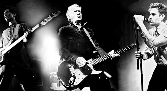 Guitarist Andy Gill and his post-punk four-piece Gang of Four take the Observatory stage on Tuesday!