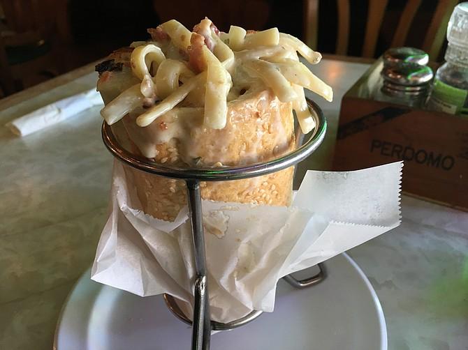 Torpedo + pasta = Torpasta