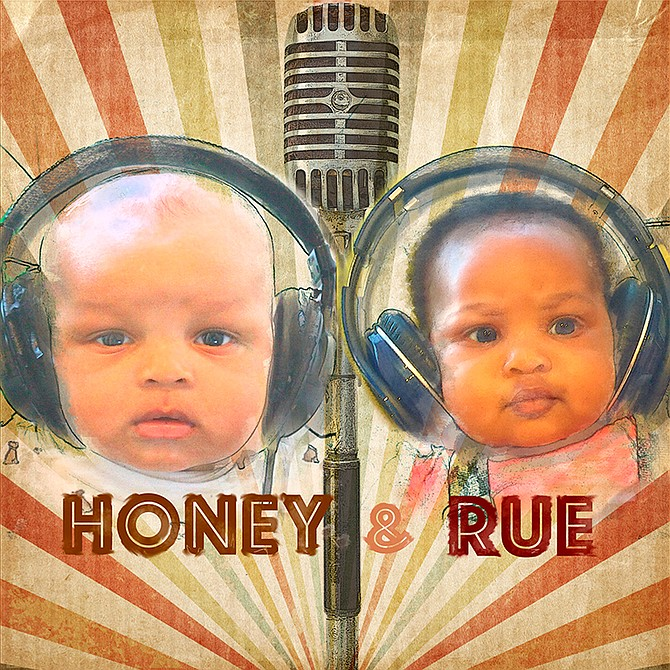 Honey and Rue Podcast Cover Art
