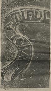 Close-up of El Jupiter's side