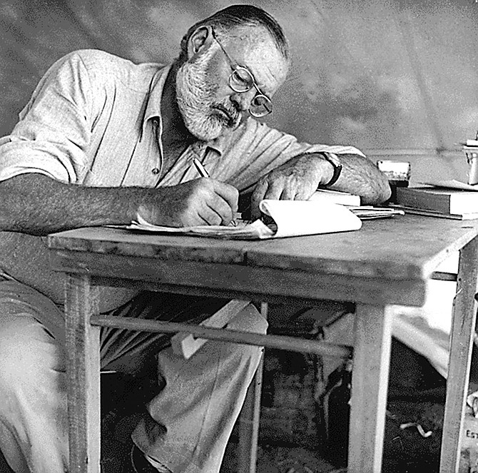 Hemingway in Kenya, 1953