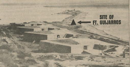 Fort Rosecrans, Point Loma, Battery Wilkinson, looking southeast, c.1910