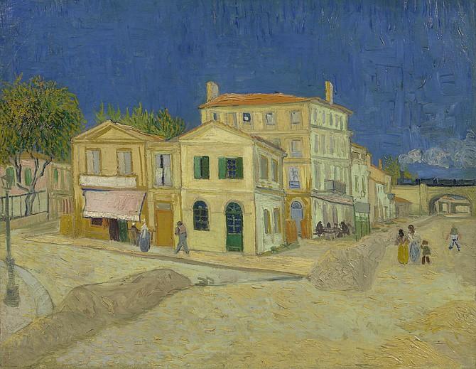 Van Gogh's The Yellow House