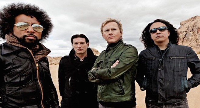 Alice in Chains's dark intensity was palatable but never seemed out-of-place in the regal venue.