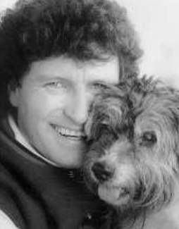 """Terry Wilson and Beau. """"For more than two decades he had been the emotional glue that held me together. Now I had to be strong for him."""""""