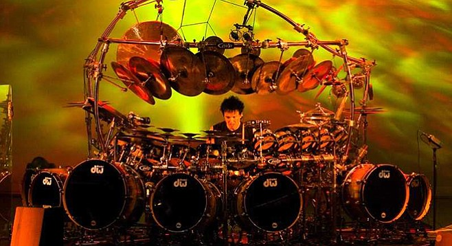 """Bozzio: """"You better love to play for playing's sake because you won't get rich or famous doing anything new anymore."""""""