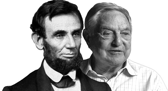 Would Lincoln be opposed to George Soros's view that a winner of over 50 percent of the votes in a primary should not face a run-off election?
