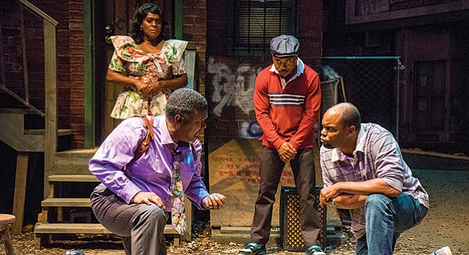 August Wilson's plays flow like a musical score, soprano highs and bass lows about the black experience in America.