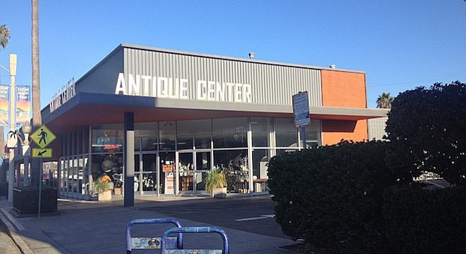 Antique Center on Newport Avenue