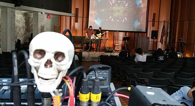 """Checked Out, an experimental noise event, plugs in at the Central Library on Saturday, October 29. What ever happened to """"Shhhhhh!""""?"""