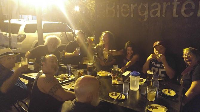 Big Brother Dinner at Bar 1502