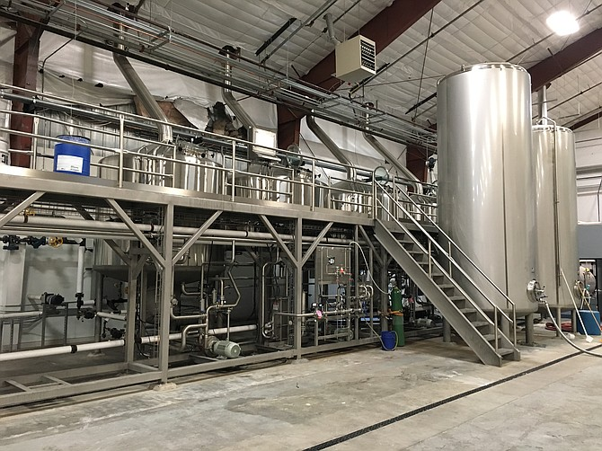 Mother Earth's Nampa, Idaho brewery went online in August.   - Image by Kevin Hopkins (Mother Earth Brew Co.)
