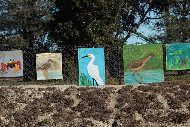 Paintings from the 2015 River Kids Discovery Days