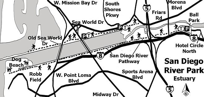 San Diego River Park Estuary Trails