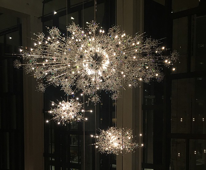 Sputnik Chandeliers at The Met