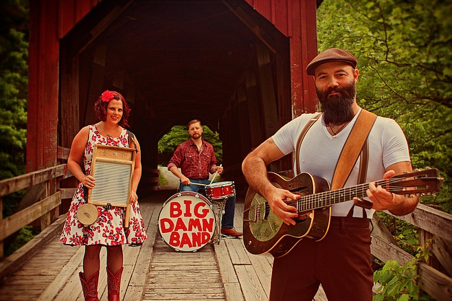 The distinguished dilinquents in Reverend Peyton's Big Damn Band headline sets at Casbah Thursday night!