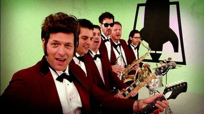 Brass-punk big band Rocket From the Crypt headlines Halloween sets at the Lafayette!