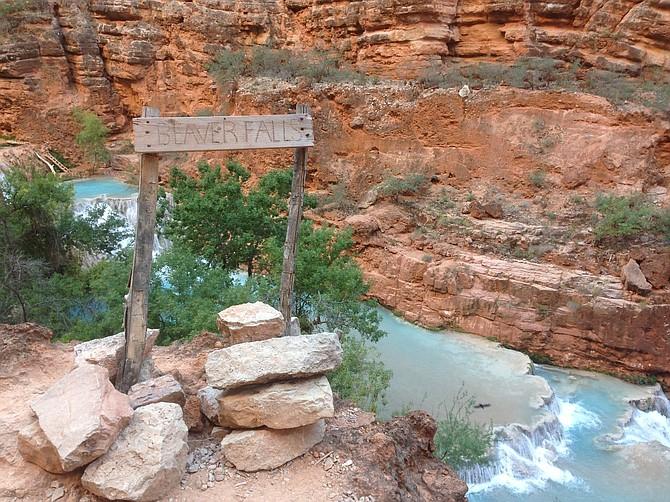 Beaver Falls, Havasu Canyon, Arizona