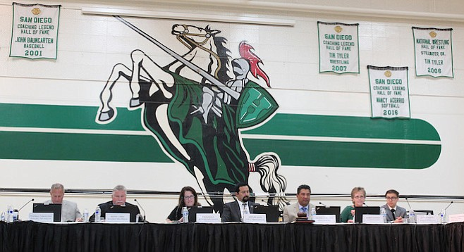 Sweetwater Union High School District trustees voted unanimously to allow students to choose their preferred campus.