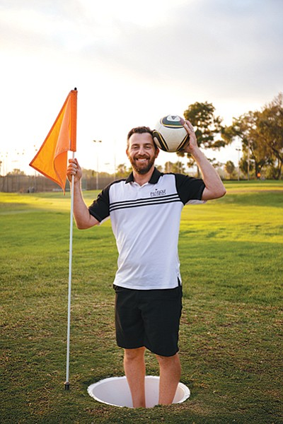 Ariel Fajerman first learned about footgolf in Argentina