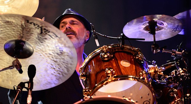 Named one of Rolling Stone's Top 100 Drummers, Danny Seraphine was inducted into the Rock and Roll Hall of Fame earlier this year with Chicago.