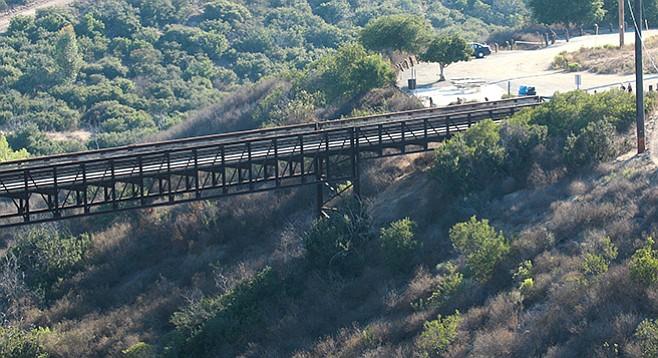 Rim Trail bridge