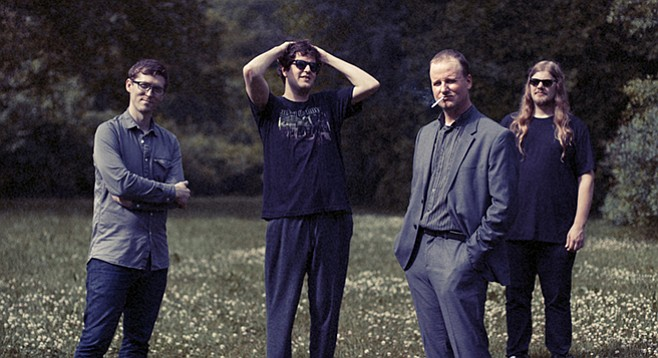 Detroit post-punk four-piece Protomartyr sets up at Soda Bar Wednesday night!