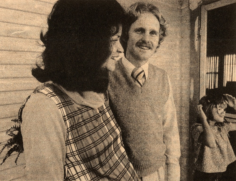 Georgia and Gary Bell with daughter