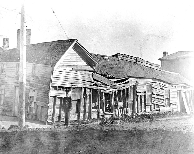 Third and K, downtown, c. 1910