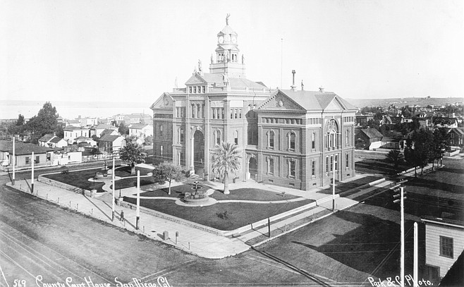 San Diego Courthouse, c. 1890