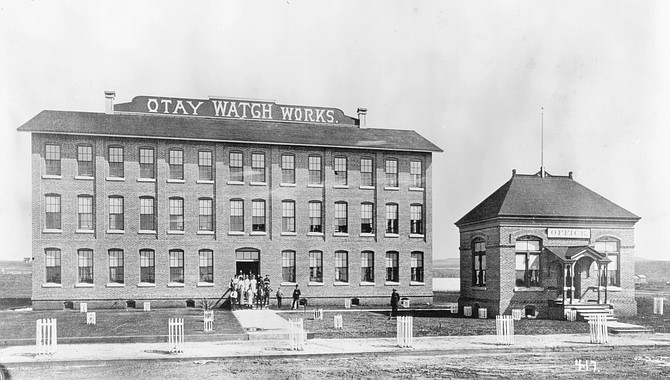 Otay Watch Works, c. 1890. They hoped to sell pocket watches to Mexican Indians.