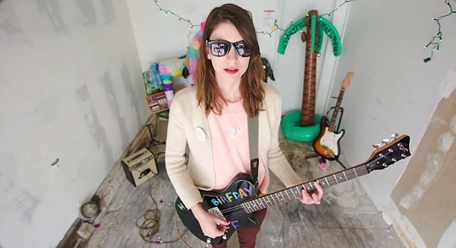 Lo-fi queen Colleen Green hits the Hideout on humpnight.