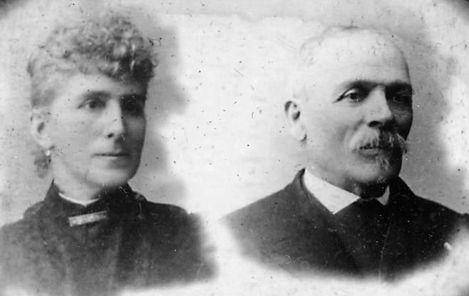 Augusta and Matthew Sherman. Sherman was the earliest Civil War veteran on the postwar scene in San Diego