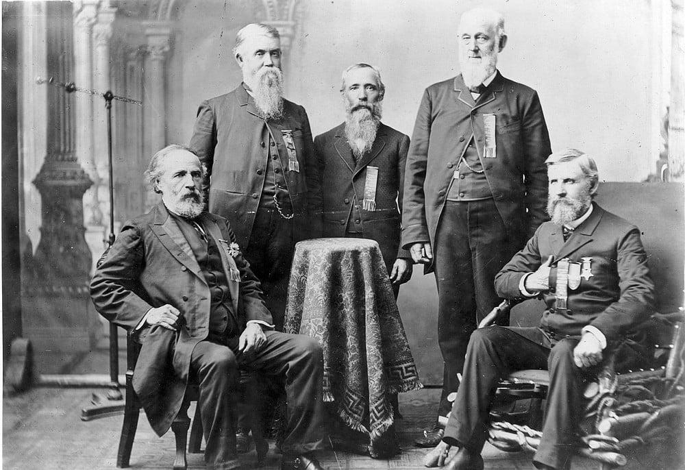 G.A.R members, 1890s